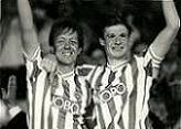 Alan Curbishley and Garry Nelson