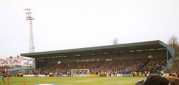 Last game - the North Stand
